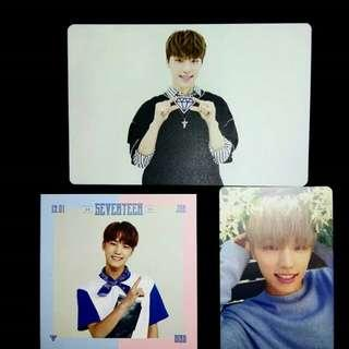 [CLEARANCE] SEVENTEEN OFFICIAL PHOTOCARDS TRADING CARD POSTCARDS ALBUM