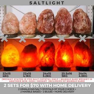 🚚 Authentic Himalayan Salt Crystal Lamps | free home delivery