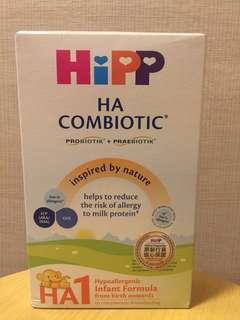 Hipp HA1 Combiotic Infant Formula 低敏雙益初生嬰兒奶粉 350g