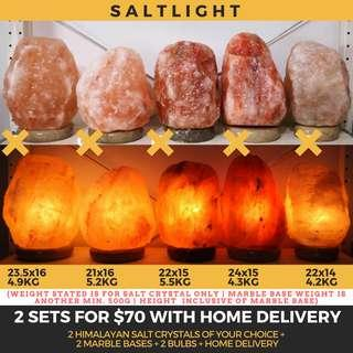 🚚 Authentic Himalayan Crystal Salt Lamps | Beautify & Purify