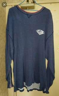 [ixi:z]藍色長袖衛衣