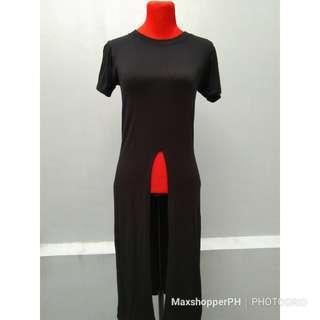 Maxi top/ dress (Black)