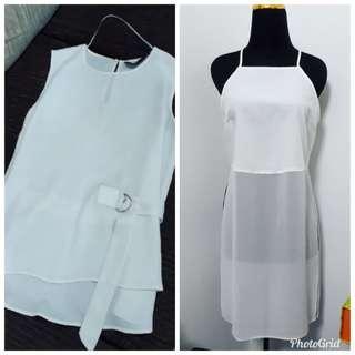 (Offer) Zara & Miss Selfridge White Tops