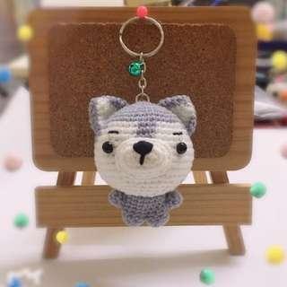 🎁Little Husky Keychain