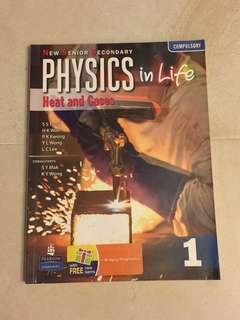 New Senior Secondary PHYSICS in Life - Heat and Gases