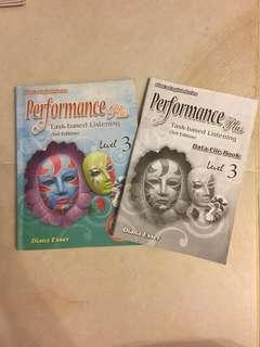 Performance Plus Task-based Listening Level 3