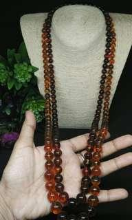 Amber Beads long Necklace