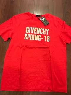 GIVENCHY 2XL Red Tee