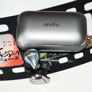 mifo藍牙耳機5.0(專業版)動圈、動鐵