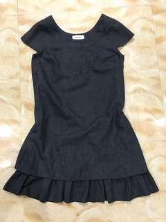 Textured office dress