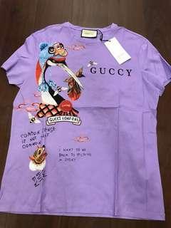 Gucci purple tee (2XL)
