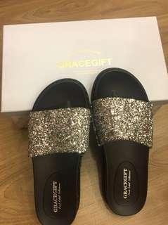22.5cm Gracegift拖鞋