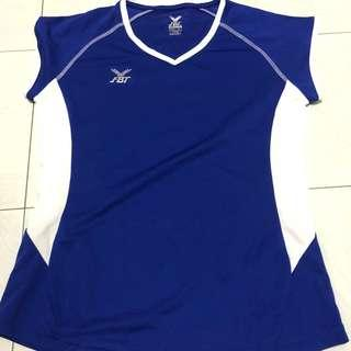 Women's sporty blue FBT Shirt