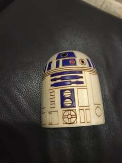 Star Wars made in japan wooden R2D2