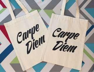 Carpediem Canvas Bag