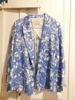 🚚 日系品牌Favvi古著西裝外套