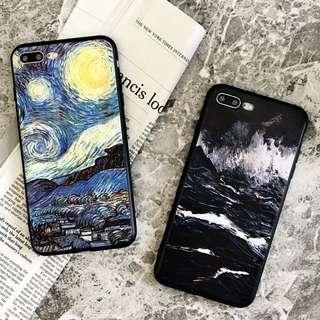 (Soft) Van Gogh Mountain Art iPhone Case