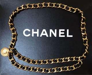 Vintage Chanel Chain Belt
