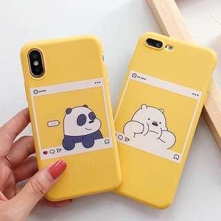 (Soft) Yellow We Bare Bears iPhone Case
