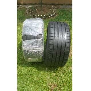 295 40 20 Michelin Latitude Sport 3 Tyres 1 set
