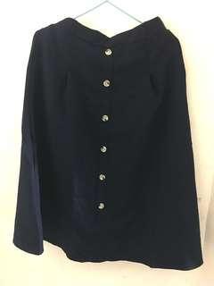 🌟藏青色橡筋裙 Navy Dress