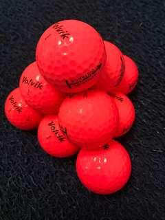 Volvik Golf balls Crystal 3pc Distance