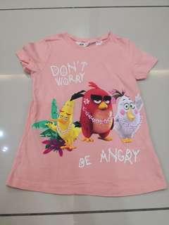H&M Angry Birds Top (6-8yo)