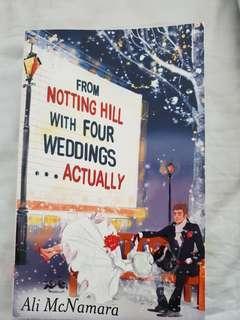 From Notting Hill with Four Weddings by Ali McNamara #RHD80