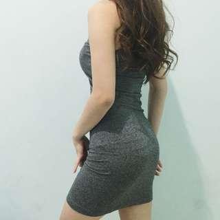 Tight Grey Dress