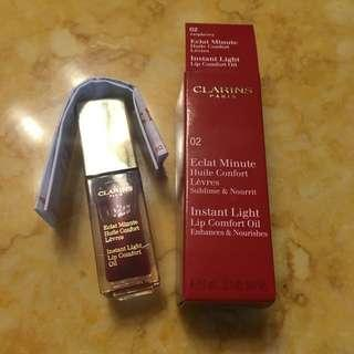 Clarins Instant Light Lip Comfort Oil 02