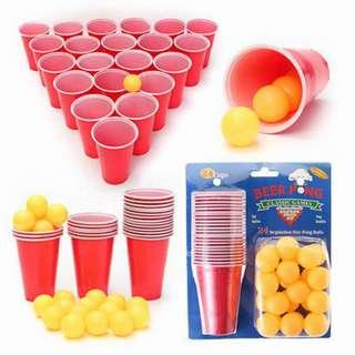 Basic Beer Pong Set | Perfect Party Game