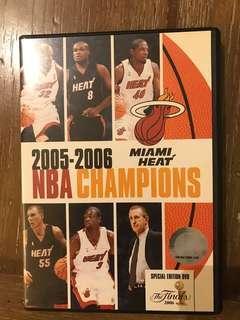 NBA Champions Miami Heat 2005-2006 DVD original