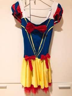 Halloween snow white costume 白雪公主裙 萬聖節