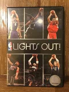 DVD original NBA lights out ( Kobe Bryant, Lebron James, and Robert Horry : movies and TV )
