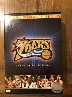 DVD original Philadelphia 76ers