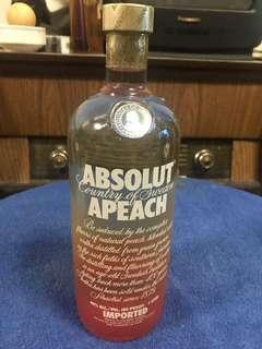 Absolut Vodka 1L Apeach