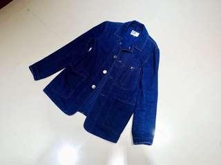 🚚 Engineered Garments 藍染單寧夾克外套。日本製。BEAMS 與 Orslow 可參考