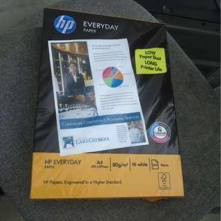 HP A4紙 80g 500張