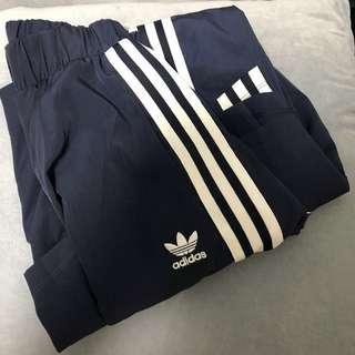 Adidas navy blue Long dress 100%real(包平郵)