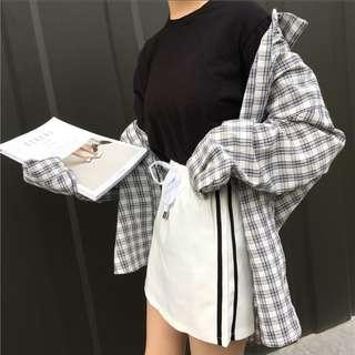 [PO] Casual College Winds Skirt