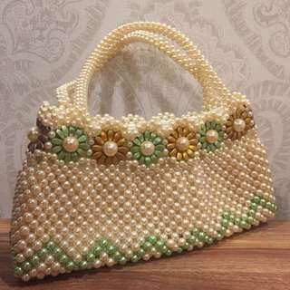 Handmade Beaded Bag