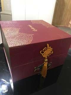 金葉庭月餅盒/收納盒