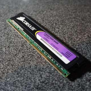 Corsair XMS2 1GB 800MHz DDR2 Ram