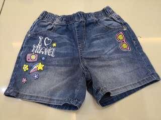 Bossini Denim Shorts (5-6y)