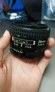 Nikon 28mm f/2.8D