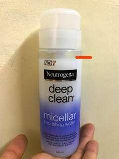 🚚 Neutrogena 露得清深層淨化溫柔泉潤卸妝水