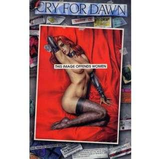 CRY FOR DAWN #9 (1992) 'Marilyn Monroe' Spoof cover!