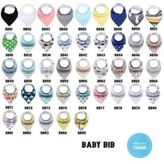 Custom baby bibs with name print -4pcs at $15