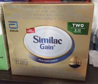 Similac Gain for Sale (sealed new)