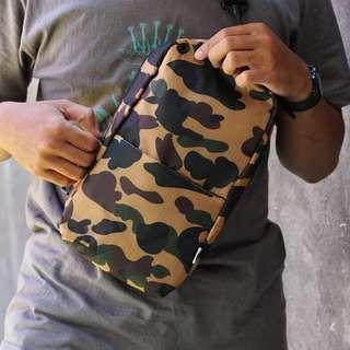 BAPE Camouflage Body Bag